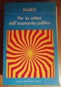 Per la critica dell' economia politica