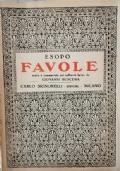 Favole di Esopo scelte e commentate da Giovanni Buscema (1945)