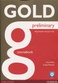 Gold Preliminary Coursebook - CD-ROM Pack