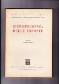 Giurisprudenza delle imposte. Pubblicazione trimestrale Anno XLII n.2 Aprile- Giugno 1969