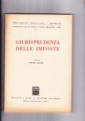 Giurisprudenza delle imposte. Pubblicazione trimestrale Anno XLI n.2 Aprile- Giugno 1968