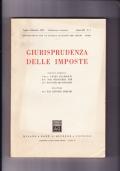 Giurisprudenza delle imposte. Pubblicazione trimestrale Anno XLI n.3 Luglio- Settembre 1968