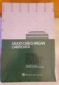 Storia dell'arte italiana  Giulio Carlo Argan  L'Antichita'