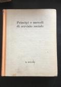 Principi e metodi di servizio sociale