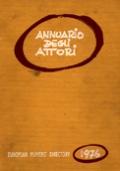 ANNUARIO DEGLI ATTORI 1976