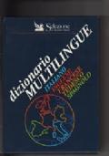 DIZIONARIO MULTILINGUE - ITALIANO INGLESE FRANCESE TEDESCO SPAGNOLO