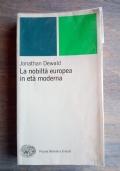 La nobiltà europea in età moderna