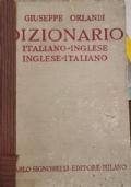 Dizionario inglese-italiano, italiano-inglese ORLANDI