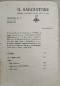 Il saggiatore: catalogo n. 5 (primavera 1961-primavera 1962)