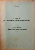 Il diritto alle pensioni della previdenza sociale