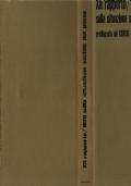 XII RAPPORTO 1978 SULLA SITUAZIONE SOCIALE DEL PAESE PREDISPOSTO DAL CENSIS COL PATROCINIO DEL CNEL
