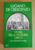 Storia della filosofia greca - da Socrate in poi