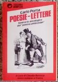 Poesie - Lettere. Itinerario antologico del 'poetta ambrosian'