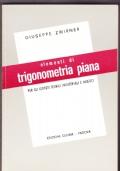 Elementi di trigonometria piana per gli Istituti tecnici Industriali e Nautici