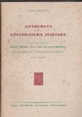 Antologia della letteratura italiana Volume primo Dalle origini alla fine del Quattrocento