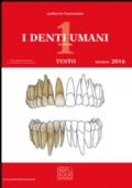 I denti umani. Tavole-Disegno tecnico. Con e-book. Con espansione online. Per le Scuole superiori