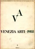 VENEZIA ARTI n. 2/1988