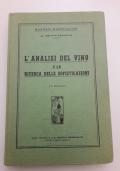 L'analisi dei vino e la ricerca delle sofisticazioni