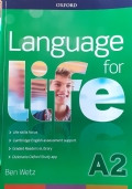 Language For Life A2 con compact disc digital audio