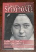 RIVISTA DI VITA SPIRITUALE N.3 2012 LA LECTIO DIVINA DI TERESA DI LISIEUX