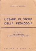 L'esame di storia della pedagogia. Parte terza: Dal Romanticismo al movimento delle Scuole nuove