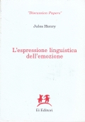 L'espressione linguistica dell'emozione