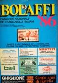 Bolaffi '86 - catalogo nazionale dei francobolli italiani