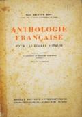 Antologie française pour les ecoles d'Italie