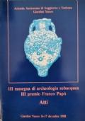 III Rassegna di archeologia subacquea, III premio Franco Papò (atti)