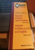 negoziare in inglese come in italiano