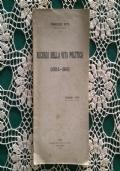 RICORDI DELLA VITA POLITICA (1904-1919)