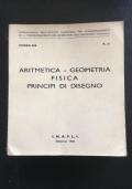 Aritmetica - geometria Fisica principi di disegno