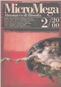 Micromega 2-2000. Almanacco di Filosofia