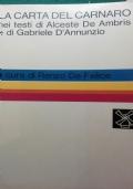 la carta del Carnaro Nei testi di alceste De ambris e di Gabriele D'Annunzio