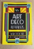 Art deco alphabets
