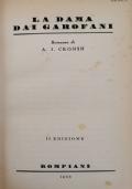 La dama dai Garofani (A. J. Cronin) (cop. rigida Bompiani 1955)