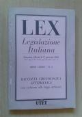 LEX. Legislazione italiana n.2 anno 2000