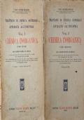 CHIMICA INORGANICA tomi 1 e 2 di E. MOLINARI (1943, Hoepli)