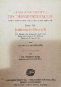 Langenscheidts Taschenwortenbuch Italienisch-Deutsch (I)