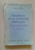 Panorama de la litterature francaise