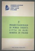 3° PREMIO NAZIONALE DI POESIA INEDITA CITTÀ DI BARI MARINA DI PALESE