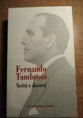 Ferdinando Tambroni SCRITTI E DISCORSI (DC, Democrazia Cristiana)