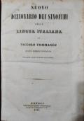 Dizionario dei sinonimi della lingua italiana --IN OFFERTA---