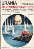 MILLEMONDIESTATE 1978 - Tre romanzi completi di John Creasy: La Montagna degli orrori, Terrore su Londra, Il diluvio