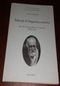 Principi di linguistica teorica