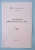 Norme e Disposizioni concernenti l�assistenza di malattia ai Portieri (1942-XX)