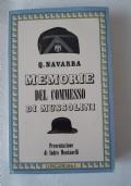 MEMORIE DEL COMMESSO DI MUSSOLINI