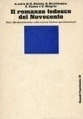 """Il romanzo tedesco del Novecento. Dai """"Buddenbrook alle nuove forme sperimentali"""