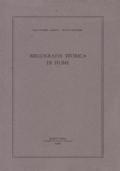Bibliografia Storica di Fiume