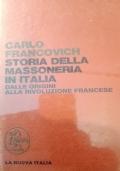 storia della massoneria italiana dalle origini alla rivoluzione francese